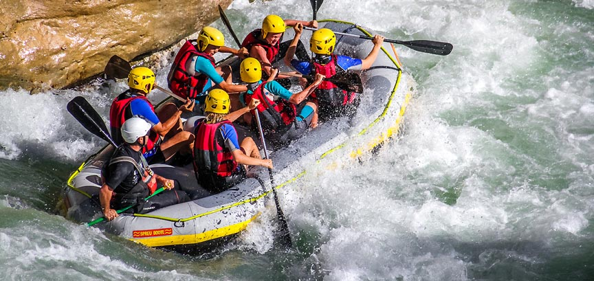 planete riviere rafting